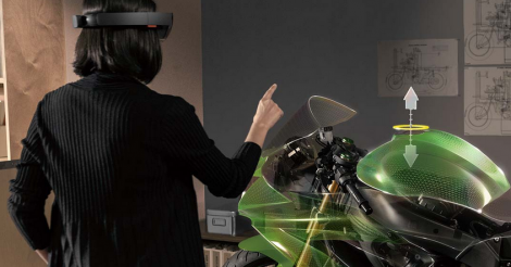 Learn about Microsoft's plans to release holographic goggles #WOAH
