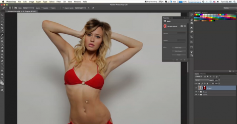 Seeing what this model looks like without Photoshop will shock you! [VIDEO]