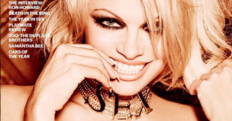 Pamela Anderson graces Playboy's last ever nude issue