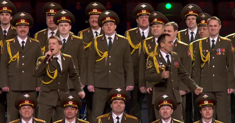 Russian police choir covers Daft Punk's 'Get Lucky', wins Sochi Olympics [VIDEO]