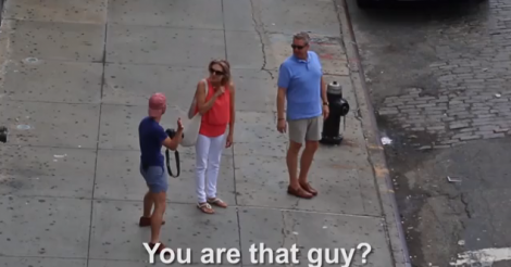 Guy pretends to be Humans of New York photog, trolls New Yorkers with amazing results [VIDEO]