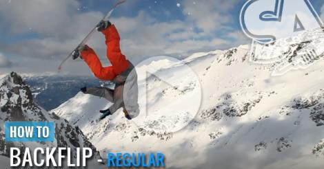 How to Backflip - Snowboarding Video Trick Tip