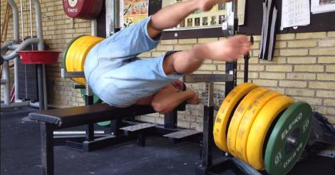 Un bench press fail qui donne froid dans le dos