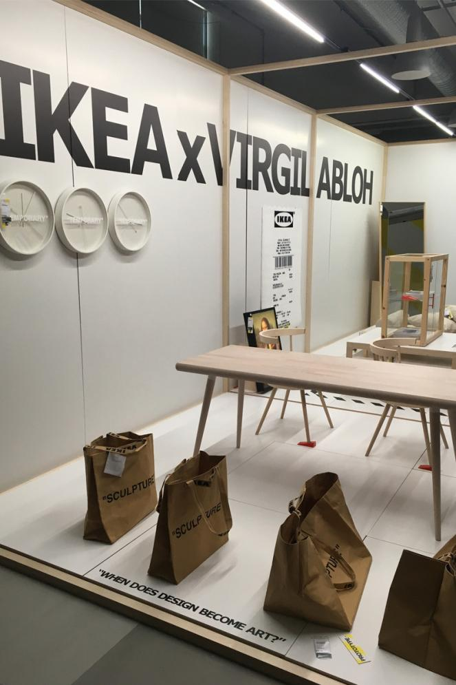 Ikea X Off White La Collection De Virgil Abloh Enfin Devoile Avec