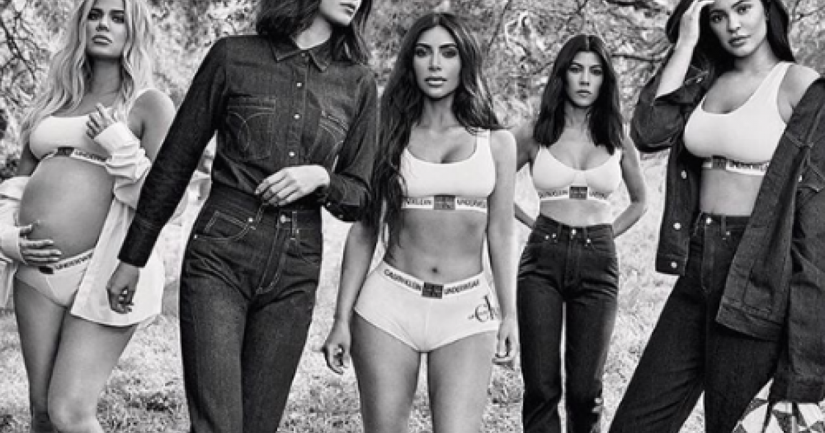 The Kardashian Sisters Star In New Calvin Klein Campaign