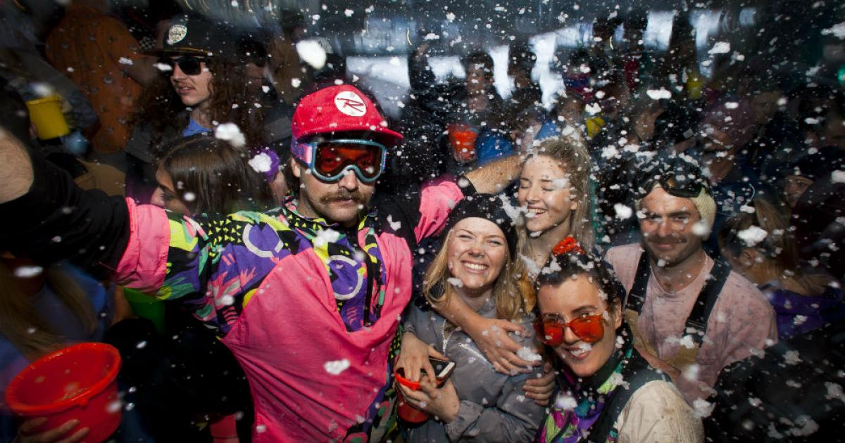 Party Whistler-Style at the World Ski and Snowboard Festival