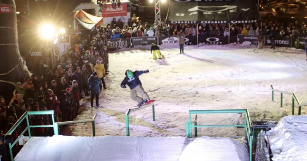 Photos du Empire Backyard Party (BYP) snow part 2: les athlètes en action