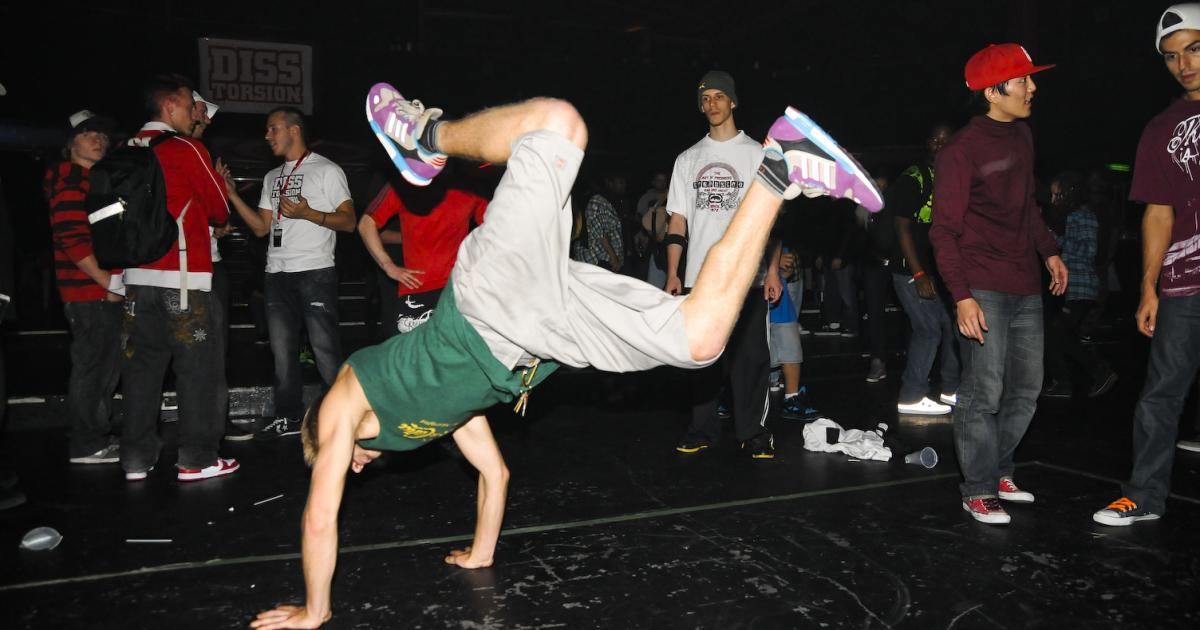 Born to Serve: Raekwon et championnat de B-boying