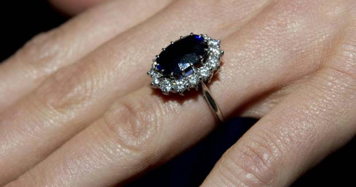 Kate Middleton follows celebrity trend with coloured engagement rock