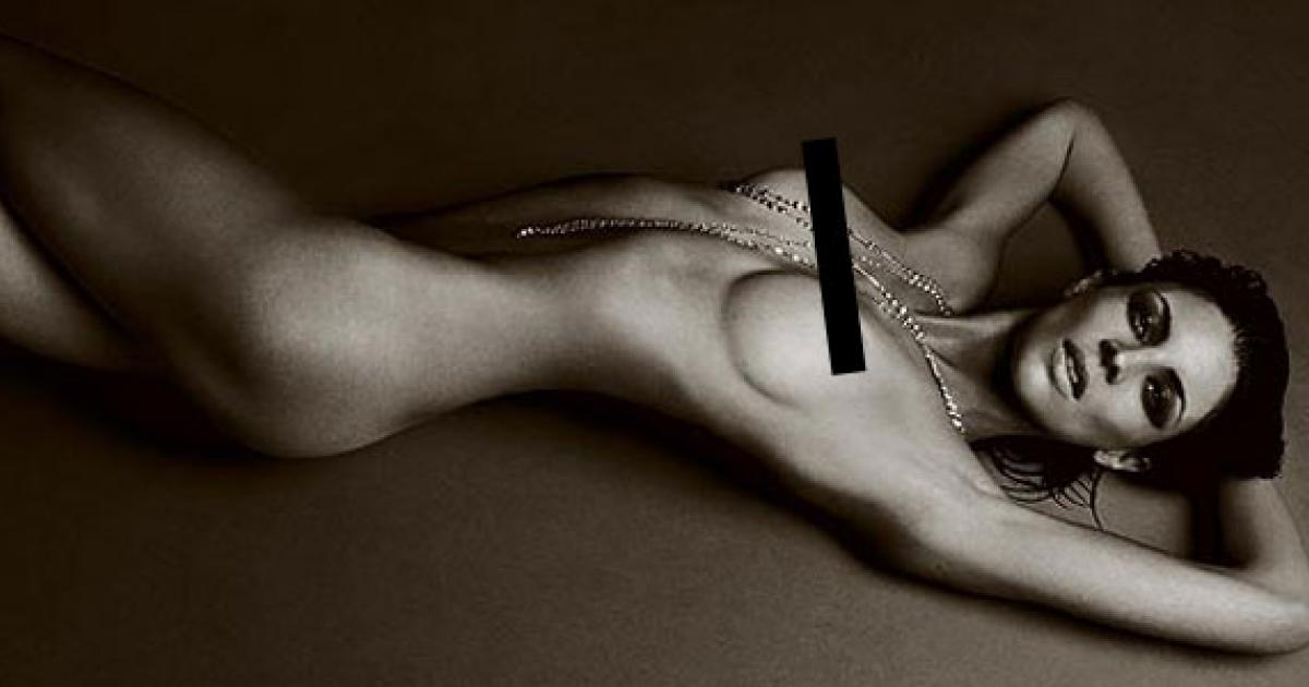Take that, Kristen Stewart! Liberty Ross goes nude for erotic photo shoot
