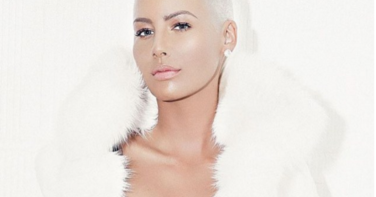 Amber Rose posts fierce topless selfie to support #FreeTheNipple