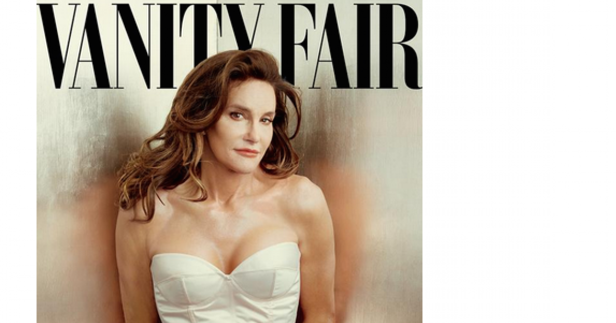 Caitlyn Jenner, formerly Bruce Jenner, revealed to the world in Vanity Fair