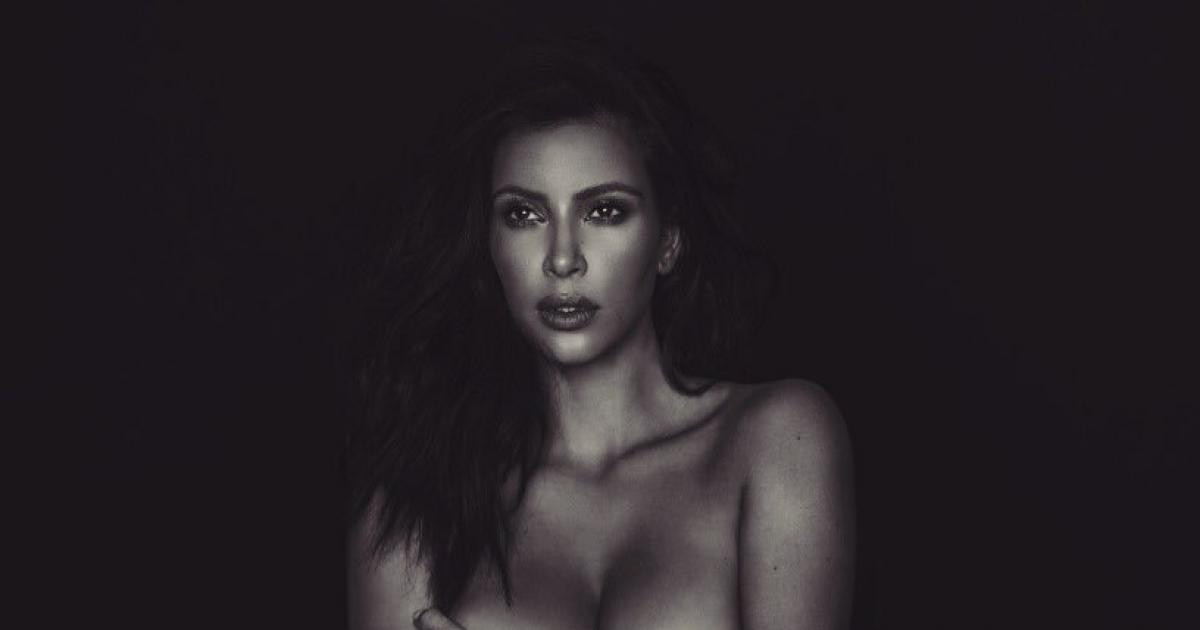 Kim Kardashian goes on embarrassing rant against nude selfie critics, shares even more naked photos