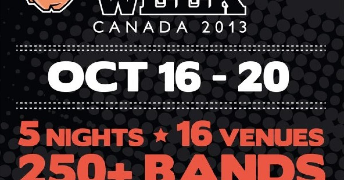 Indie Week Toronto celebrates 10th anniversary October 16-20, here are five bands you can't miss!
