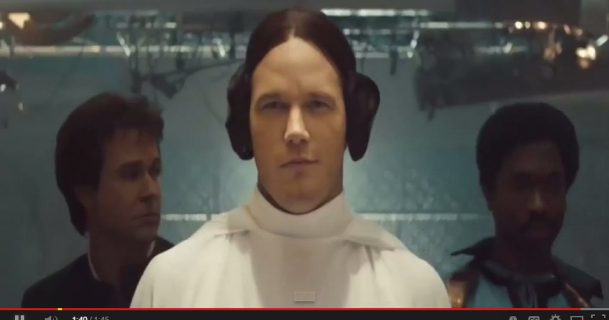 Chris Pratt dressed as Princess Leia on Saturday Night Live - what more could you ask for? [VIDEO]