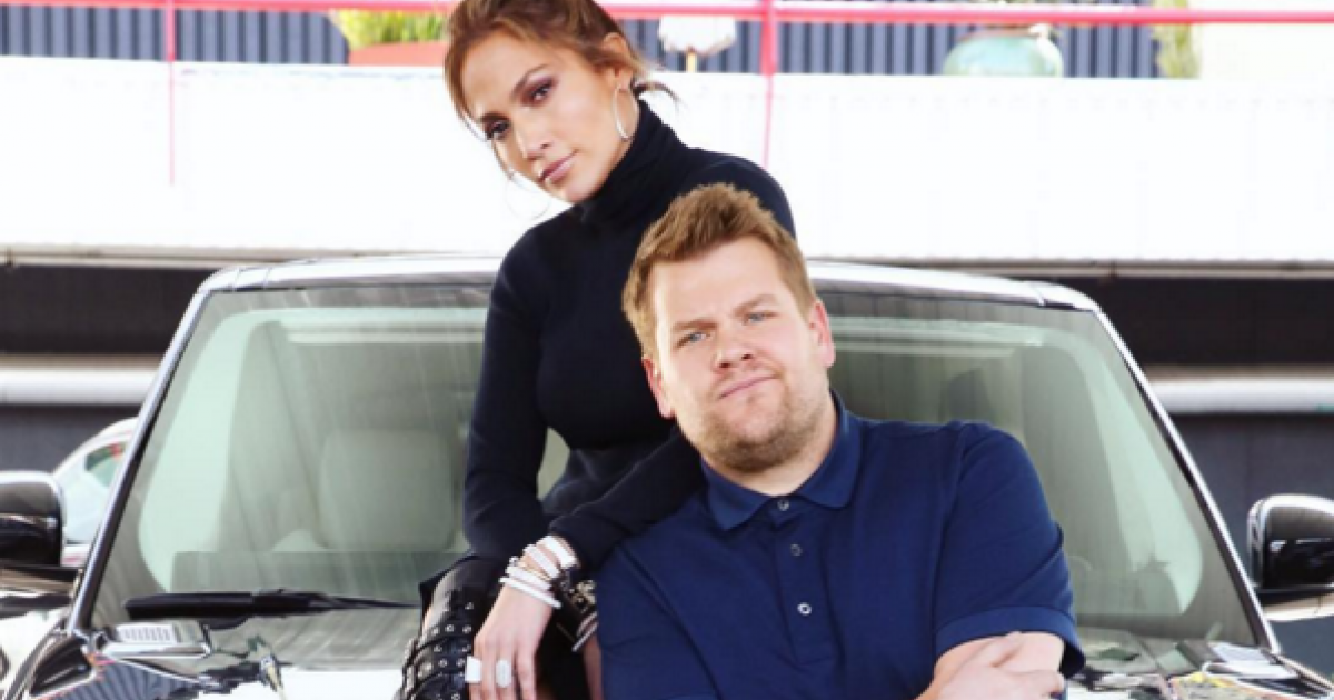 Jennifer Lopez and James Corden prank texting Leonardo DiCaprio is everything [VIDEO]