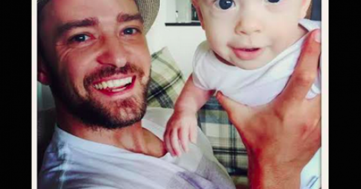 Justin Timberlake's baby is the freaking cutest baby of all time