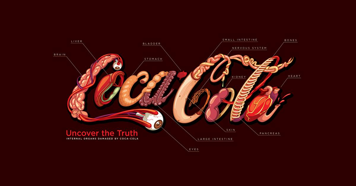 You might never drink Coca-Cola again after seeing this graphic