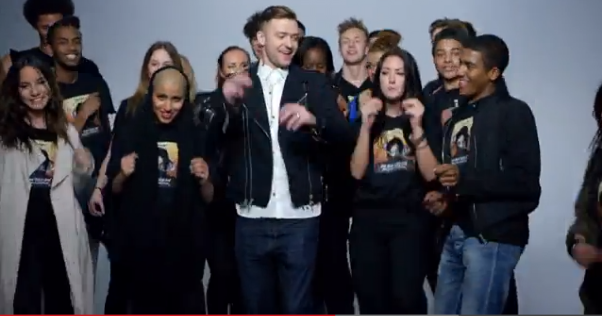 Justin Timberlake pays tribute to Michael Jackson's iconic dance moves in new video