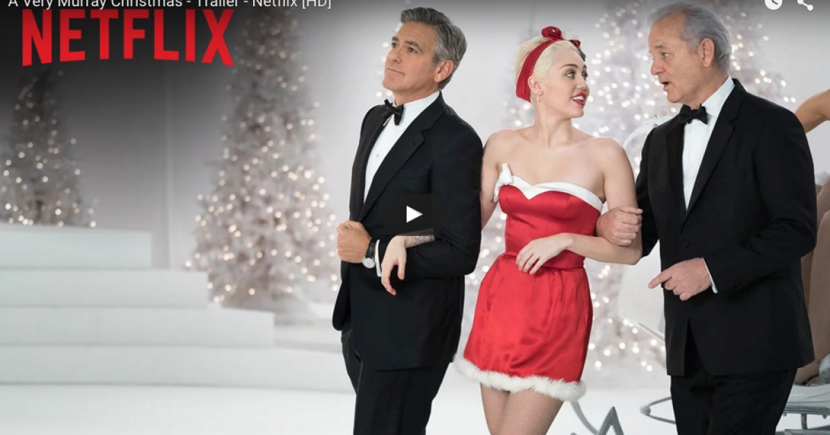 This trailer for Bill Murray's Christmas special is more than we could have hoped for