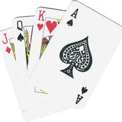 Playing Cards: They're the best time waster when you are on a 10-hour bus, train or plane ride!