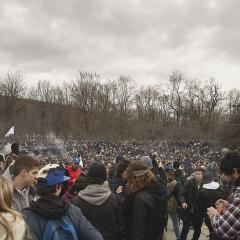 Un 4/20 très sur la puff au pied du mont Royal (PHOTOS)