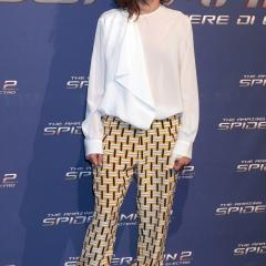 Giulia Michelini (Rome): Someone just got out of bed and forgot to change out of their PJ bottoms...