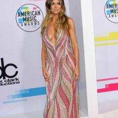 Best Dressed at the AMAs: Heidi Klum