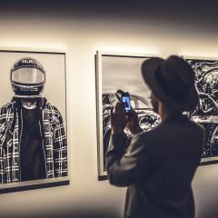 Ambiance trendy au MAC pour l'expo photo de Vice [Photos]