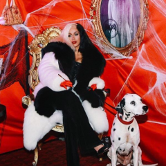 Cardi B went all out as Cruella de Vil.