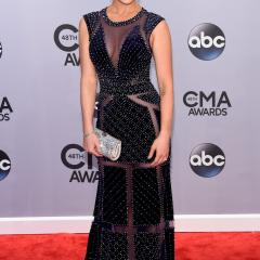 Kellie Pickler: She struck the perfect balance with this gown that's super sexy, but not too revealing.