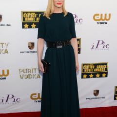 Cate Blanchett: The dress could be a little more tight-fitting in the waist, but Cate looks amazing in everything. Not fair.
