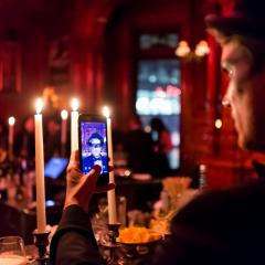 EYES WIDE SHUT: la soirée la plus exclusive et glamour d'Halloween au Bar George