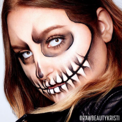 Halloween ou maquillage funky pour l'occasion! 469427
