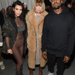 Kanye West unveils adidas collection at NYFW to celebrity-filled front row that dressed in the dark 269869