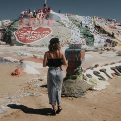 Le roadtrip américain de Bianca Des Jardins, de Los Angeles à Pheonix [Photos]