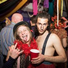Un party du Mardi Gras hyper flyé à la Factry hier soir (PHOTOS)