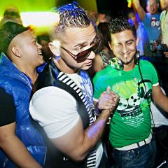 "Mike ""The Situation"" de Jersey Shore fait le party à l'Imperial Room"