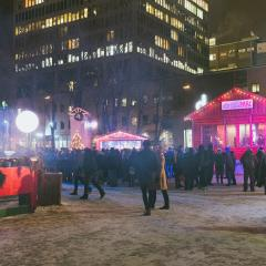 LaF, Clay and Friends et Qualité Motel enflamment la Place Émilie-Gamelin (PHOTOS)