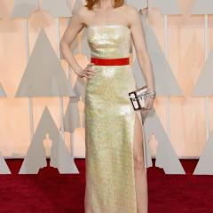 Nicole Kidman: Not only does this color wash her out, but this look is just SO boring.