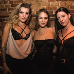 Maripier Morin lance sa collection de lingerie en collaboration avec blush à La Champagnerie (PHOTOS)