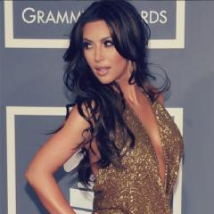 Wedding? What wedding? Kim Kardashian makes an appearance at the launch of the World's Most Beautiful Magazine event.