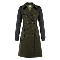 Trench coat (military green black) - $89.99 *net-a-porter exclusive*