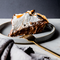 Chocolate Pie with Toasted Meringue