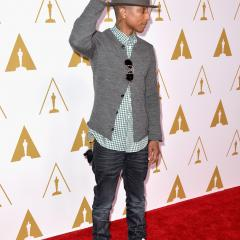 Pharrell Williams: The hat is back, baby, and we couldn't be happier.