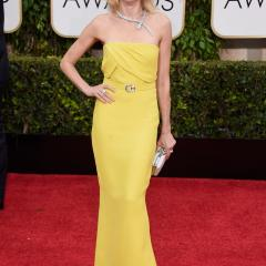 Naomi Watts: That yellow, though. And don't even get us started on the necklace.