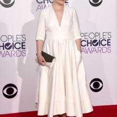 Ginnifer Goodwin: This gown would totally work if it had some sort of shape and definition.