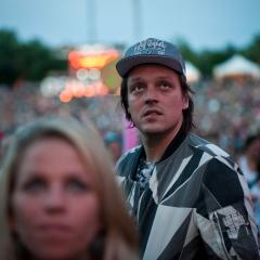 Win Butler from Arcade fire who had the strangest look!