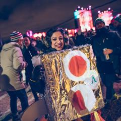 TOP photos des costumes les plus intenses vus à IGLOOFEST Montréal