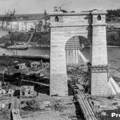 Des photos impressionnantes de la construction du pont Jacques-Cartier en 1926 396578